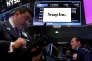 Le New York Stock Exchange, le 11 mai. La prmière cotation de Snap a eu lieu le 2 mars.