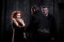Patricia Petibon (Mélisande), Kyle Ketelsen (Golaud) et Jean Teitgen (Arkel) dans«Pelléas et Mélisande», de Debussy, mis en scène par Eric Ruf au Théâtre des Champs-Elysées à Paris.