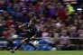 L'attaquant du Real Madrid Cristiano Ronaldo lors de la demi-finale retour de la Ligue des champions face à l'Atletico, le 10 mai.