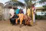 Orchestra Baobab, au Yaatouna, à Dakar (Sénégal), en janvier 2017.