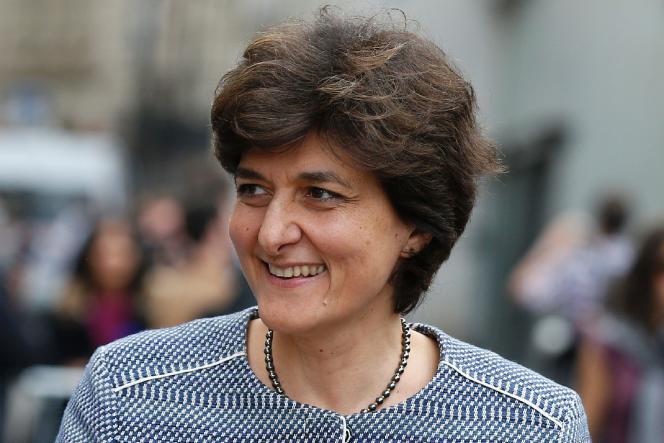 Sylvie Goulard, à Paris, le 13 mai.