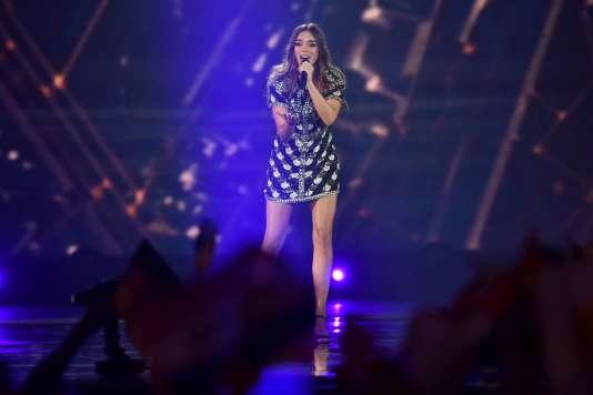 La Française Alma s'est classée 12e du concours de chant le plus regardé d'Europe.