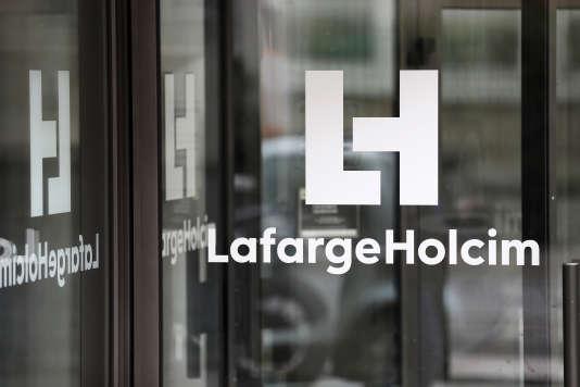 Le siège de LafargeHolcim, à Paris.