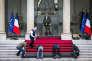 Le jour de l'investiture du nouveau président de la République, au palais de l'Elysée, le14 mai.