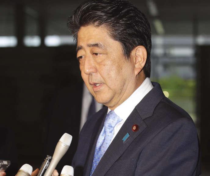 Le premier ministre japonais, Shinzo Abe.