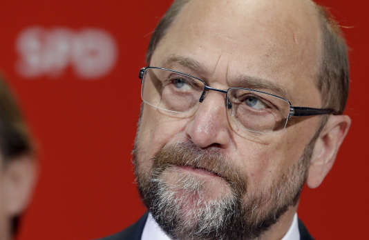 Martin Schulz le 14 mai à Berlin.