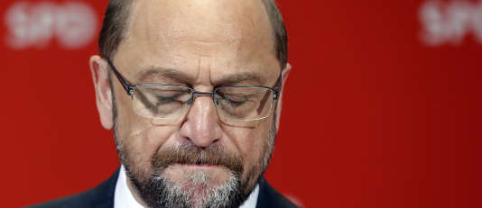 Pour Martin Schulz, qui brigue le poste de chancelier fédéral à l'automne, ce résultat est de très mauvais augure pour la suite.
