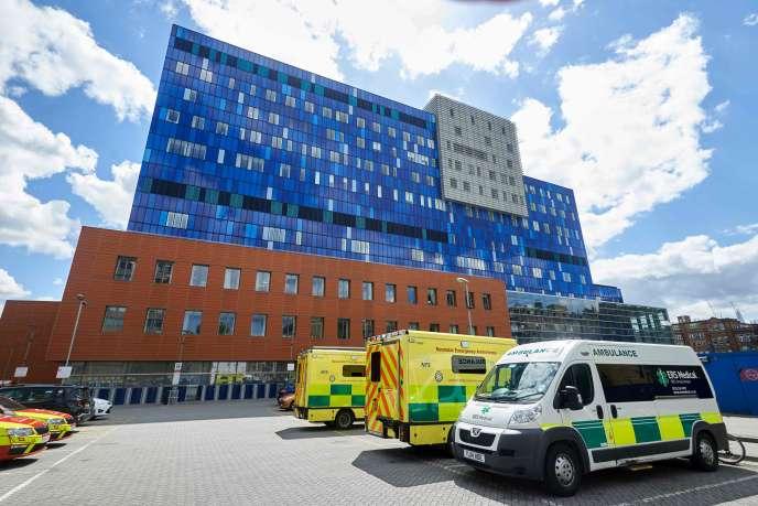 Le Royal London Hospital, dans la capitale britannique, le 14mai.