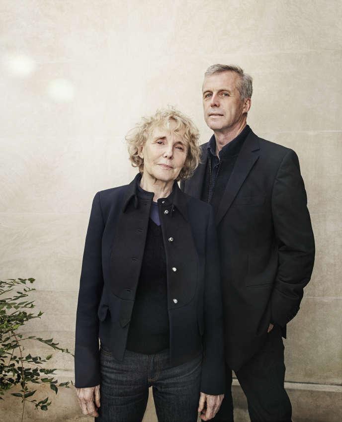 Claire Denis et Bruno Dumont, à Paris, en mai2017.