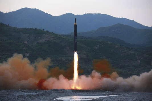 Lancé dimanche, ce nouveau type de missile semble avoir une portée sans précédent.