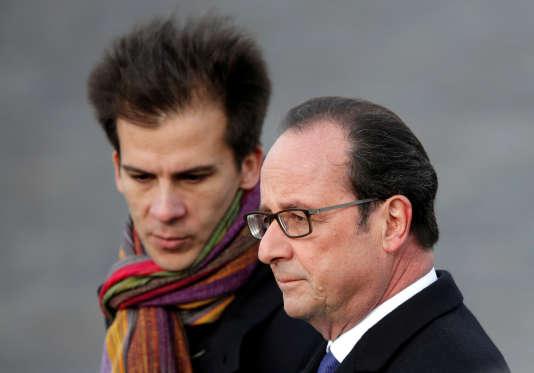 Gaspard Gantzer, conseiller communication de François Hollande, en novembre 2016.