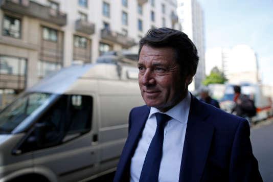 Christian Estrosi à Paris, le 24 avril.
