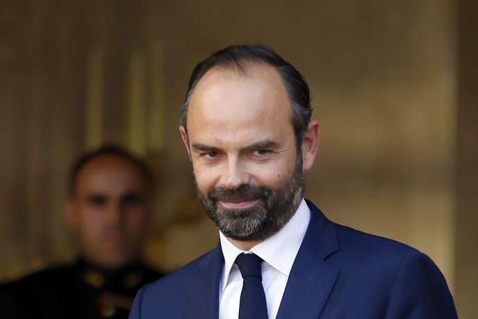 Le premier ministre Edouard Philippe à Paris, le 15 mai 2017.