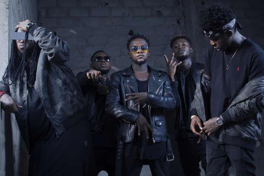 Le groupe de rap Kiff No Beat est la dernière recrue en date d'Universal Music Africa.