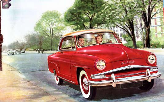 Publicité pour l'Aronde, vers 1955.