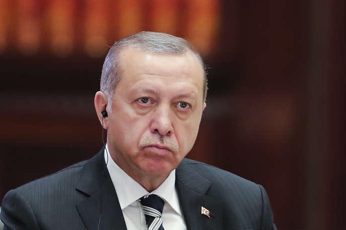 Le président turc Recep Tayyip Erdogan à Pékin, le 15 mai.