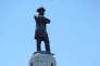 Le monument Robert E. Lee, le 24 avril à La Nouvelle-Orléans.