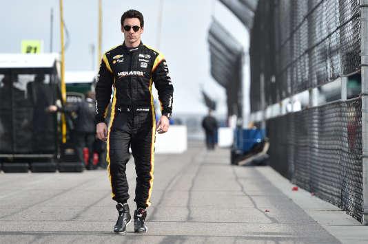 Champion en titre de l'IndyCar, le Français Simon Pagenaud aborde les 500 miles avec détermination.