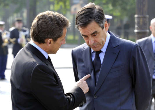 Nicolas Sarkozy et Françius Fillon en 2010.