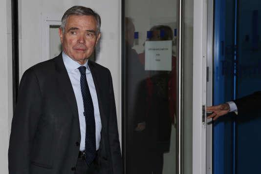 Bernard Accoyer, secrétaire général du parti Les Républicains, à Paris le 29 novembre 2016.