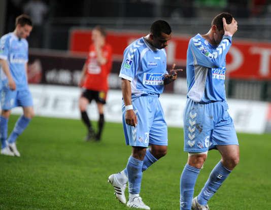 La saison 2007-2008 a été terrible pour les joueurs strasbourgeois.