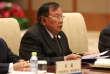 Le président du Laos, Bounyang Vorachit, en visite à Pékin le 16 mai.