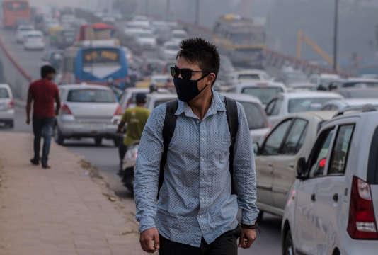 A New Delhi (Inde) en novembre 2015