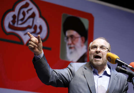 Le maire conservateur de Téhéran, Mohammad Bagher Ghalibaf, le 14 mai à Téhéran.