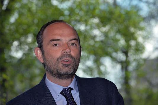 Le maire du Havre, Edouard Philippe, en avril 2016 à Paris.
