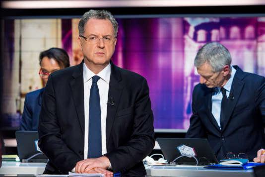 Richard Ferrand,lors du débat du second tour sur le plateau de TF1, le 7 mai.