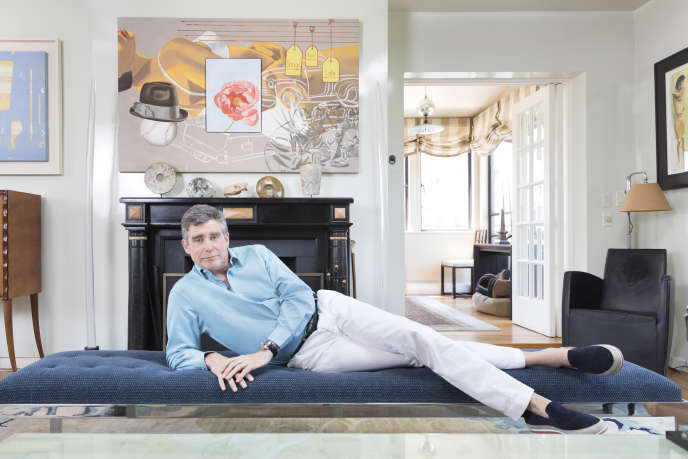 L'écrivain américain Jay McInerney à New York, en 2016.
