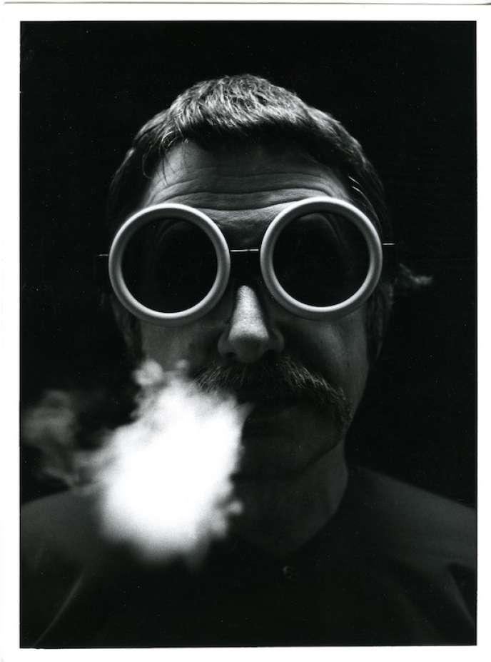 Portrait d'Ettore Sottsass, dans les années1970.