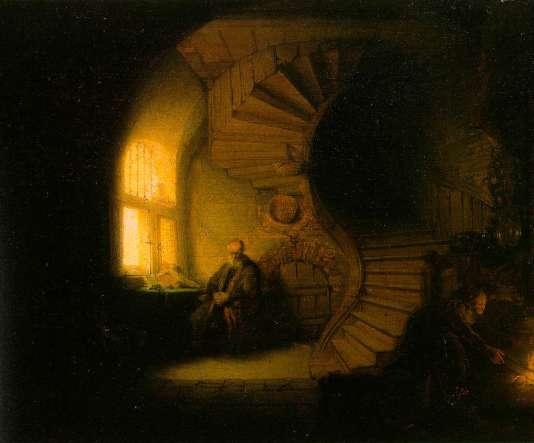 «Le Philosophe», de Rembrandt.