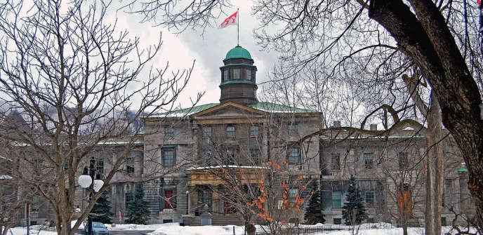 Bâtiment consacré aux arts de l'université McGill au Québec