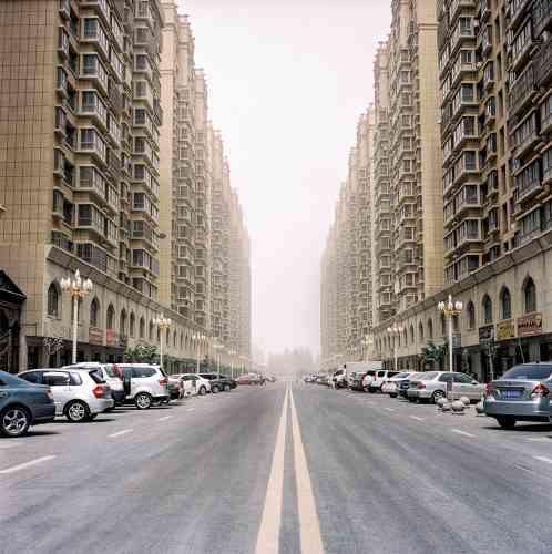 Les nouveaux quartiers résidentiels de Hotan.