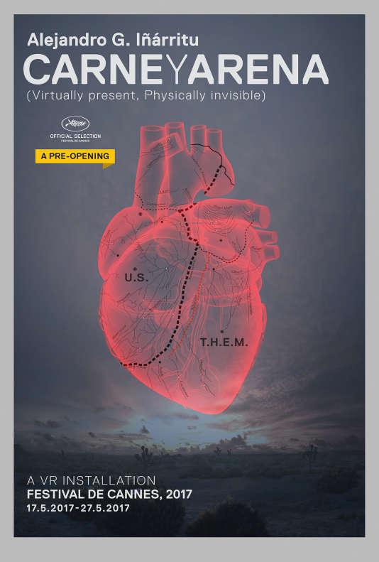 « Carne y Arena», d'Alejandro Gonzalez Iñarritu est présenté en séance spéciale (hors compétition) au 70e Festival de Cannes.