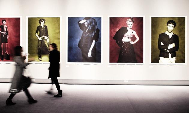 Chanel a privatisé une partie du Grand Palais en 2012 pour sonexposition « La petite veste noire ».
