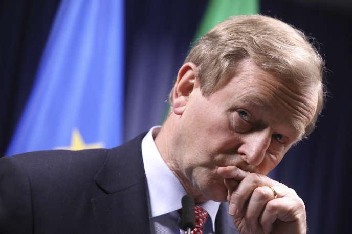 Le premier ministre irlandais Enda Kenny, le 29 avril 2017.