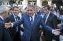 François Bayrou et Emmanuel Macron font campagne à Pau, le 12 avril.