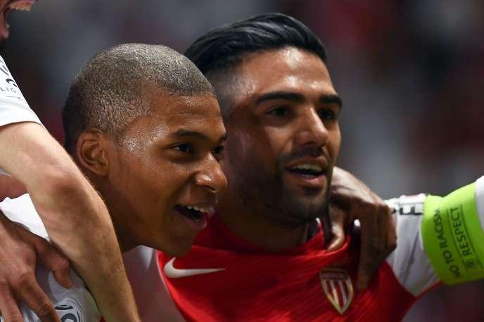 Kylian Mbappé et Rafamel Falcao, la doublette offensive monégasque, pourrait de nouveau être associée l'an prochain.