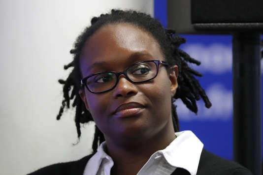 Sibeth Ndiaye, le 8 mai. Chef de file du courant strauss-khanien de UNEF, elle a été en mai un rouage essentiel de la campagne victorieuse d'Emmanuel Macron.