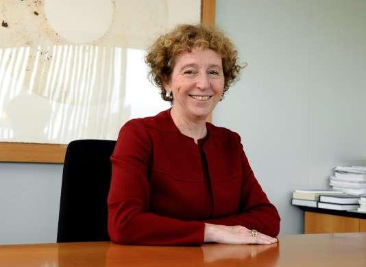 Muriel Pénicaud dans son bureau de Business France, le 21 février à Paris.