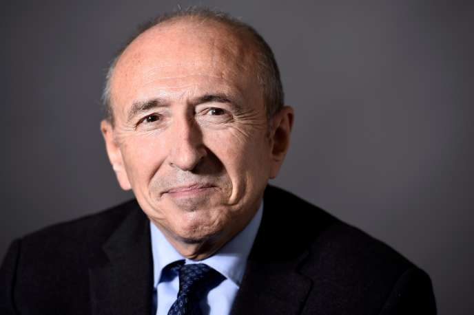Gérard Collomb, ministre de l'intérieur, à Paris, en novembre 2016.