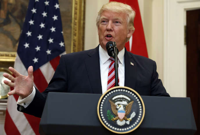 Donald Trump, à la Maison blanche, le 16 mai.