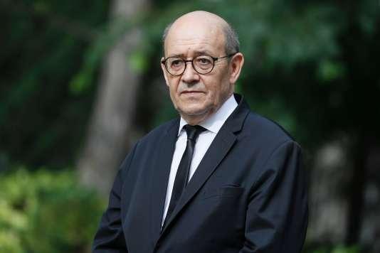 Jean-Yves Le Drian, 17 mai, à Paris.