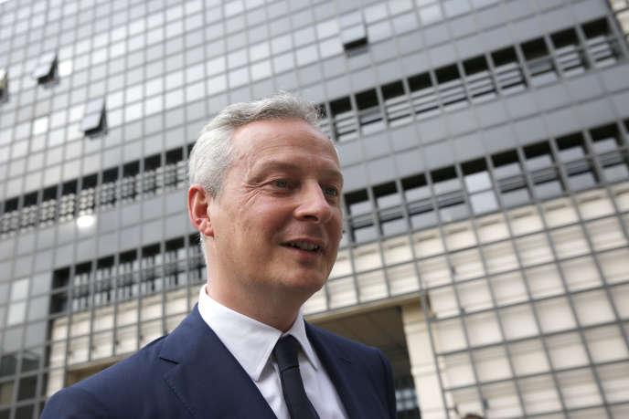 Bruno Le Maire, nouveau ministre de l'économie, a obtenu de nouvelles commandes de PSA et Renault pour sauver l'usine GM & S de La Souterraine.