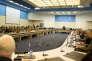 Réunion des ministres de la défense de l'OTAN, au siège de l'Alliance à Bruxelles, le mercredi 17 mai