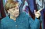 La chancelière conservatrice Angela Merkel, à Berlin, le 17 mai.