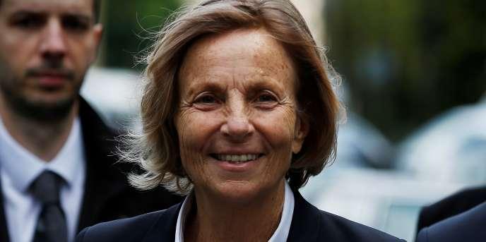 Marielle de Sarnez, à Paris, le 13 mai.