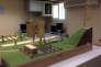 Maquette d'entraînement à la cybersécurité surnommée « Sim City» sur la base israélienne de Ramsat Gan près de Tel Aviv (Israël).